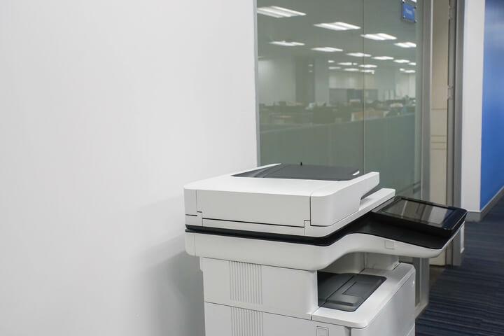 Standing Multifunction Printer